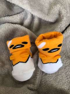 Gudetama Sanrio two way wear baby socks