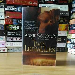 two lethal Lies - annie solomon