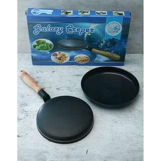 cetakan kue crepe galaxy maker untuk kulit dadar gulung , martabak mini , dan risoles