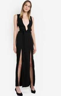 Glamorous Monochrome Maxi Dress in Size S