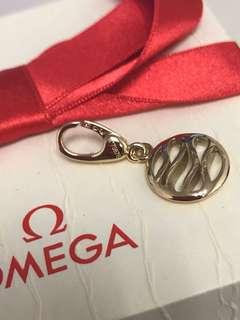 Omega 18k 黃金鑽石吊飾