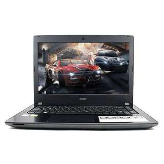 Laptop Gaming Desain Kuliah Kerja Acer Aspire E5-475G-541U Intel Core i5 Kabylake | 4 GB | 1 TB | 14"