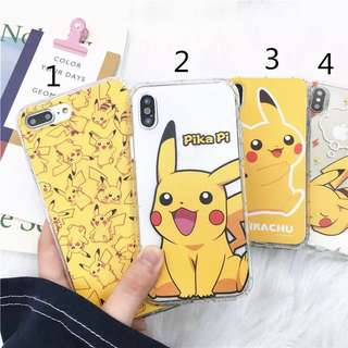 *Preorder*_PIKACHU_Iphone Soft Casing•Full Cover