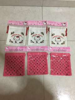 BN Hello Kitty Drawstring Pouch