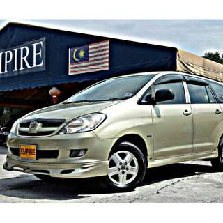 TOYOTA INNOVA 2.0 ( A ) VVT-I TRD SPORTIVO !! FULL BODYKIT !! HIGH SPECS !! ( WXX 1972 ) 1 CAREFUL OWNER !!
