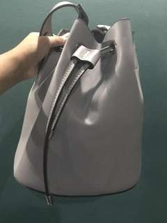 BN Blue grey bucket sling bag