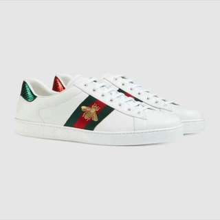 Authentic Gucci Bee sneakers