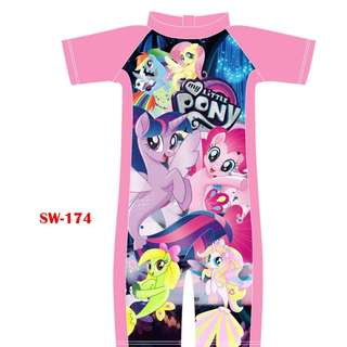 INSTOCK Pony swimsuit