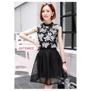 GSS9132X Top+Skirt