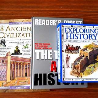 3 for $20: Ancient Civilizations; The Truth About History, Exploring History