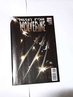 HUNT FOR WOLVERINE #1 VARIANT MARVEL COMICS