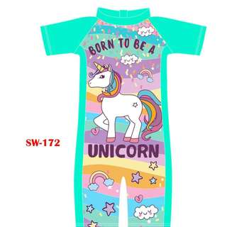INSTOCK Unicorn swimsuit