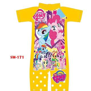 INSTOCK little pony swimsuit