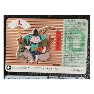 (F03) 日本 火車 地鐵 車票 MTR TRAIN TICKET, $10