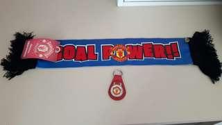 Manchester United Banner n key ring