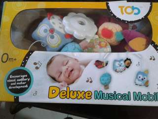 Deluxe Musical Mobile🎵🎶🎼🎧🎺🎸💤💤🔊