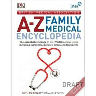 Brand New A-Z Family Medical Encylopedia