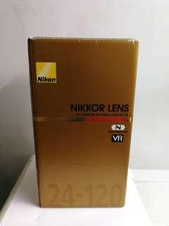 Brand New - Nikon AFS 24-120mm F4 G Nano ED