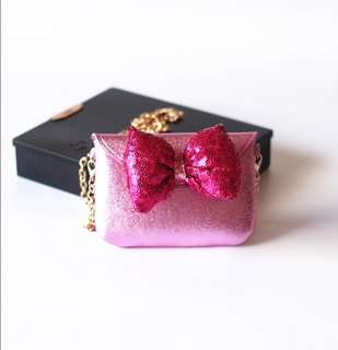 Mini Bowknot Crossbody Bag Children Hari Raya