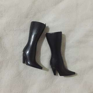 Black High Boots for Barbie