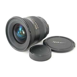 Nikon AF NIKKOR 18-35mm F3.5-4.5D ED Lens. Rare. Near Mint