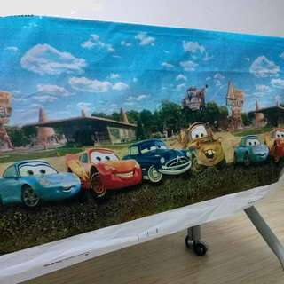 🚘 Disney Cars party supplies - Cars tablecloth / table cloth / table cover / party deco