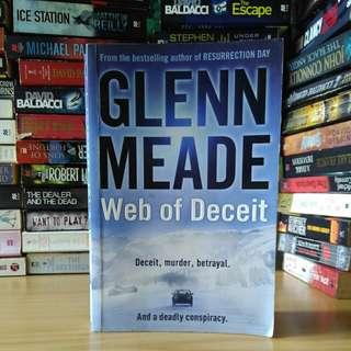 Web of deceit - glen meade (!large book)