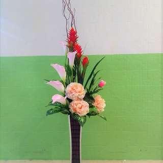 Flowers Faux Arrangement AAA0106