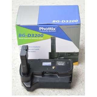 Phottix BG-D3200 Grip