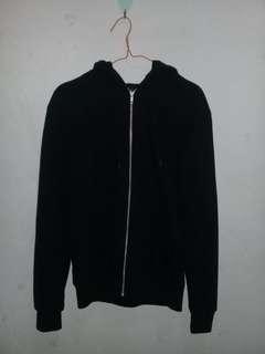 Sweater hoodie zipper H&M