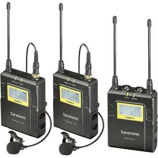 Saramonic UWMIC9 RX9 + TX9 + TX9