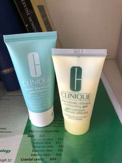 Clinique moisturisers