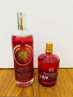 The Body Shop Strawberry Body Mist & Eau Toilette