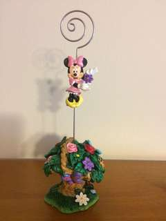 Minnie Mouse Figurine Ornament Photo Holder