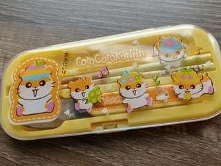 Sanrio Corocorokuririn ck鼠 餐具
