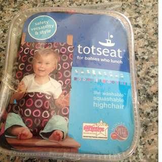Totseat 便攜式嬰兒寶寶餐椅安全背帶/椅套