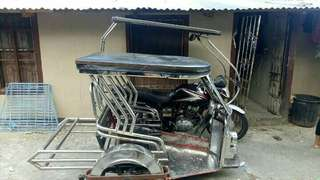 tricycle sidecar only ...