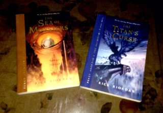 Percy Jackson: Sea of Monsters AND Percy Jackson: Titan's Curse
