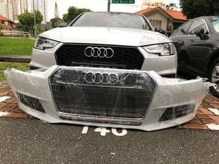 Audi b9 stock bumper  condition superb