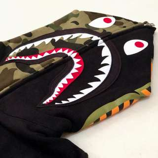 BAPE 2nd Shark Full Zip Hoodie