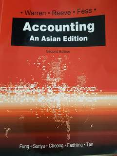 Accounting: An Asian Edition