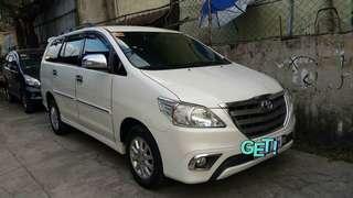 Toyota innova 2.5 G A/T Diesel Pearl White