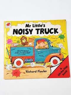 Lift & Flap Mr Little's Noisy Truck