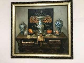 Grand Auspicious Oil Painting