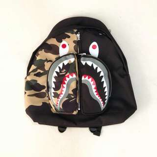 BAPE 1st Camo Shark Day Pack