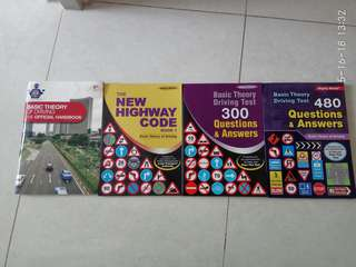 Driving license essential books