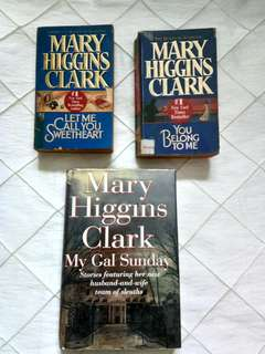 Mary Higgins clark (3pcs)