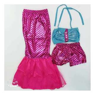 NEW ARRIVAL MERMAID COSTUME FOR KIDS ( BN/PREORDER/5-12 YRS)