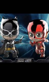 Batman and the Flash Cosbaby