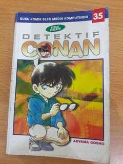 Preloved Komik Detektif Conan No 35